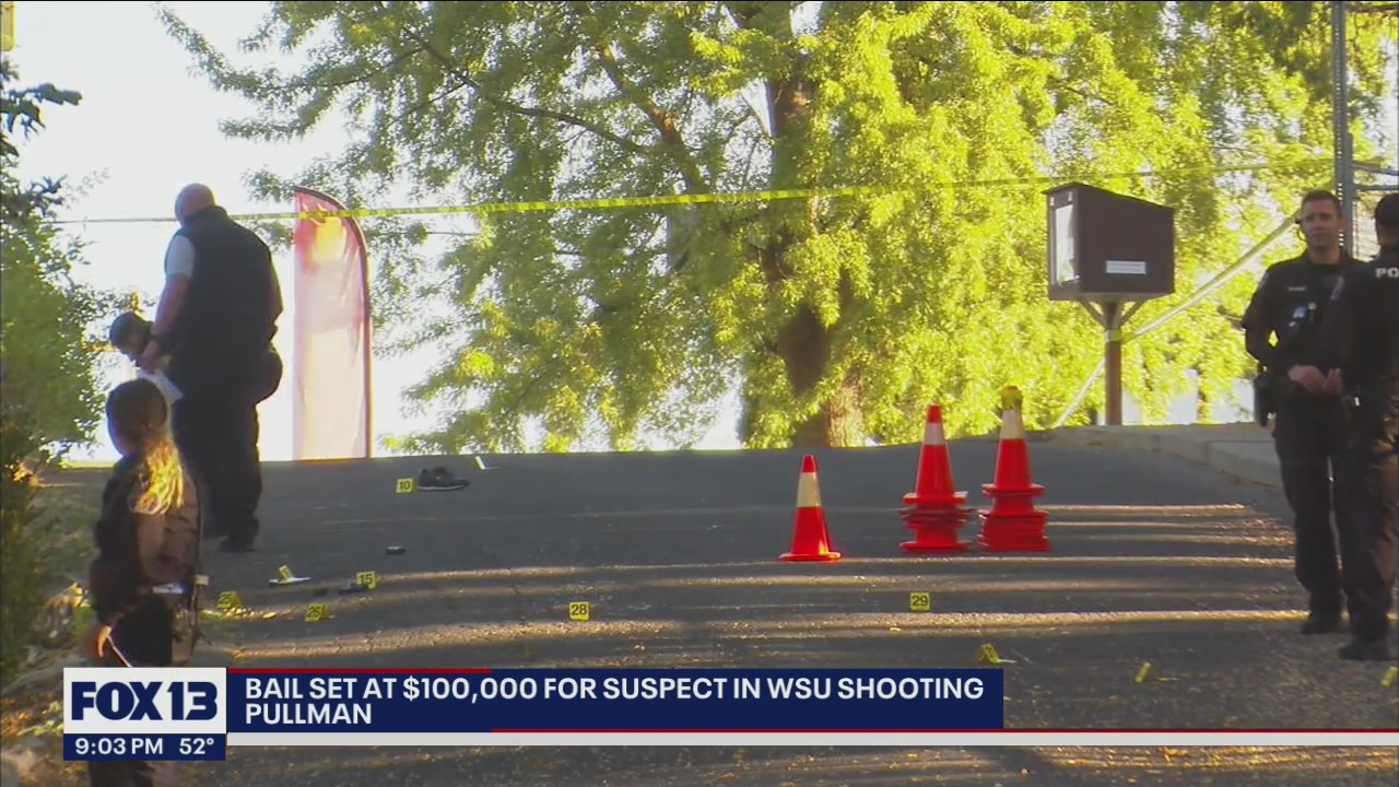 Bail set at $100k for suspect in WSU shooting