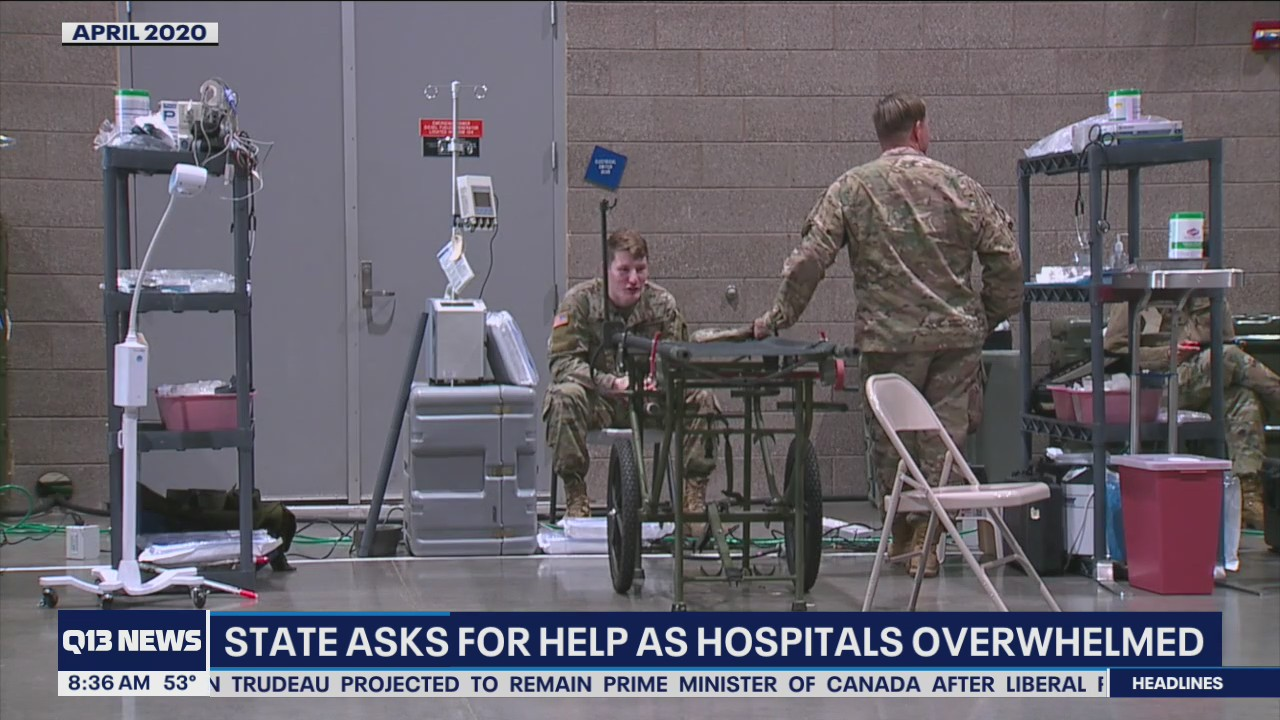 Washington state asks for help as hospitals overwhelmed