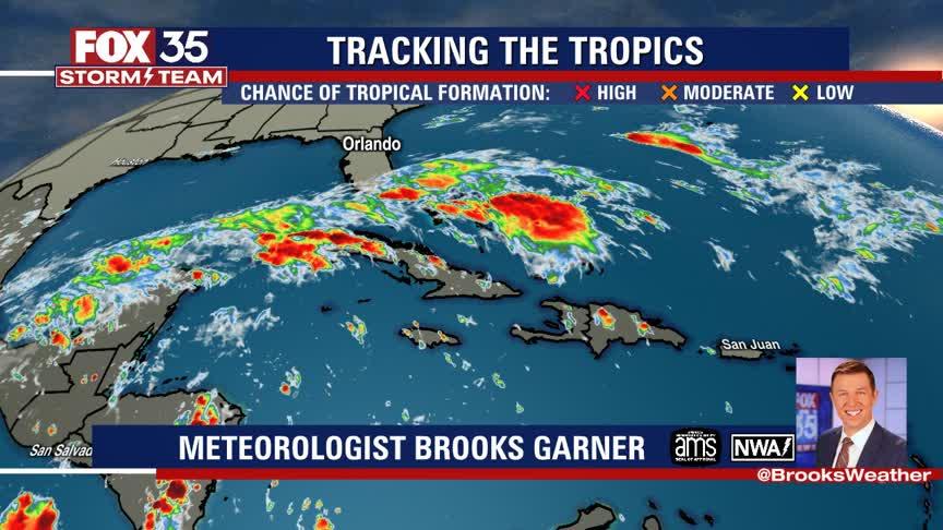 Tracking the Tropics: Oct. 22, 2021