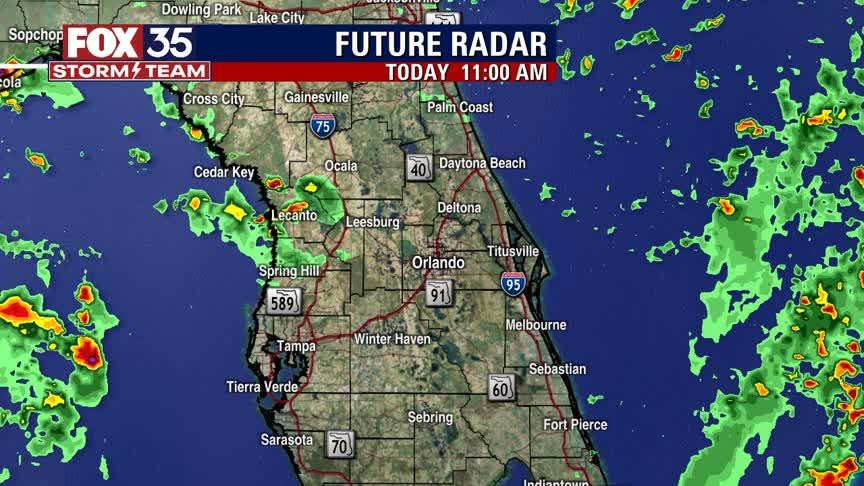 Cold front possibly coming to Florida