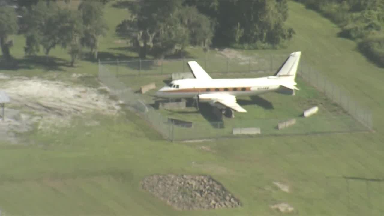Walt Disney's plane spotted at Animal Kingdom